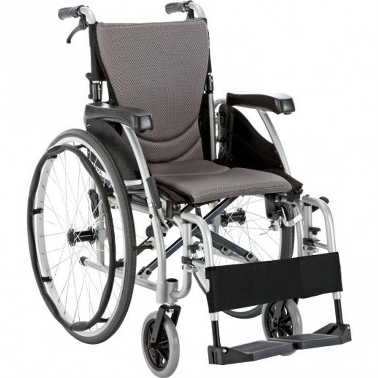 fauteuil roulant s ergo karma largeur d 39 assise 41 cm mediconfort. Black Bedroom Furniture Sets. Home Design Ideas